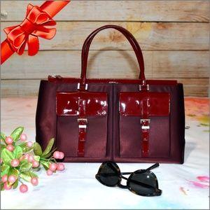 ❣️TOD'S Leather & Satin Handbag #7680580708097R100